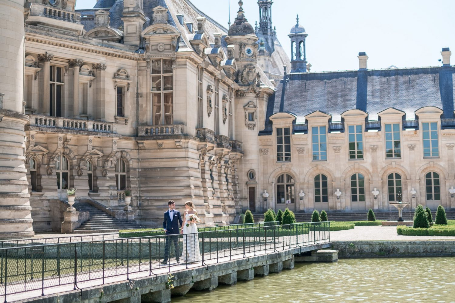 chateau chantilly wedding