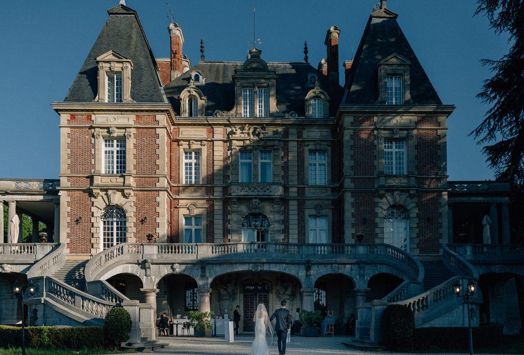 wedding venue near paris castle near Paris