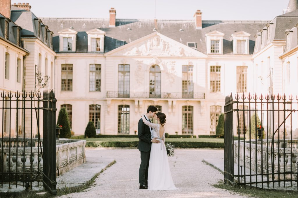 wedding in a french castle