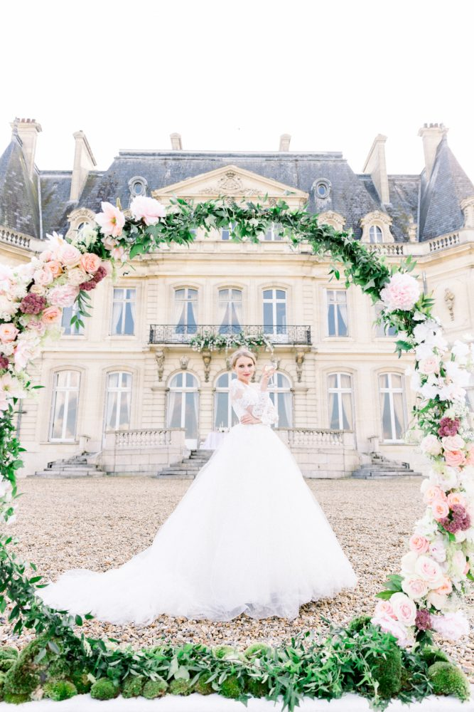 chateau wedding near Paris