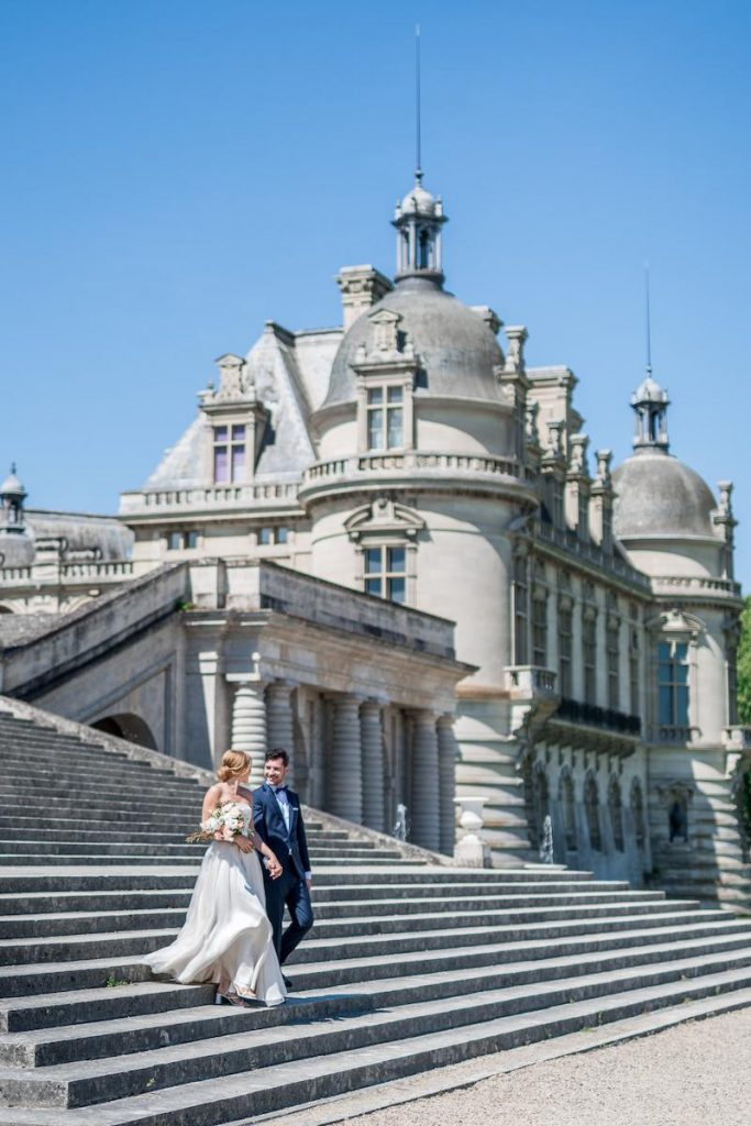 destination wedding venues in france chateau de chantilly katerina meyvial