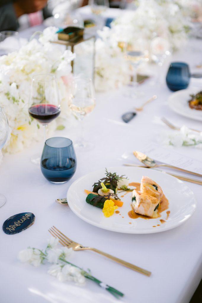 hotel marignan wedding menu main course