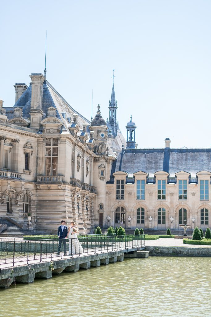 vows exchange ceremony chateau chantilly