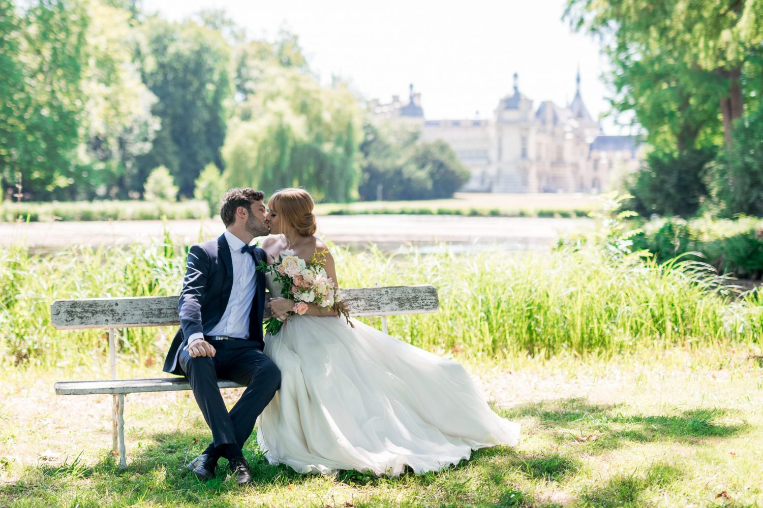 chateau de chantilly wedding