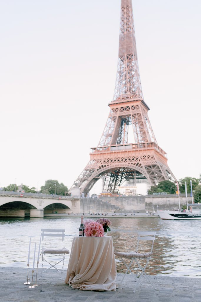 eiffel tower wedding katerina meyvial