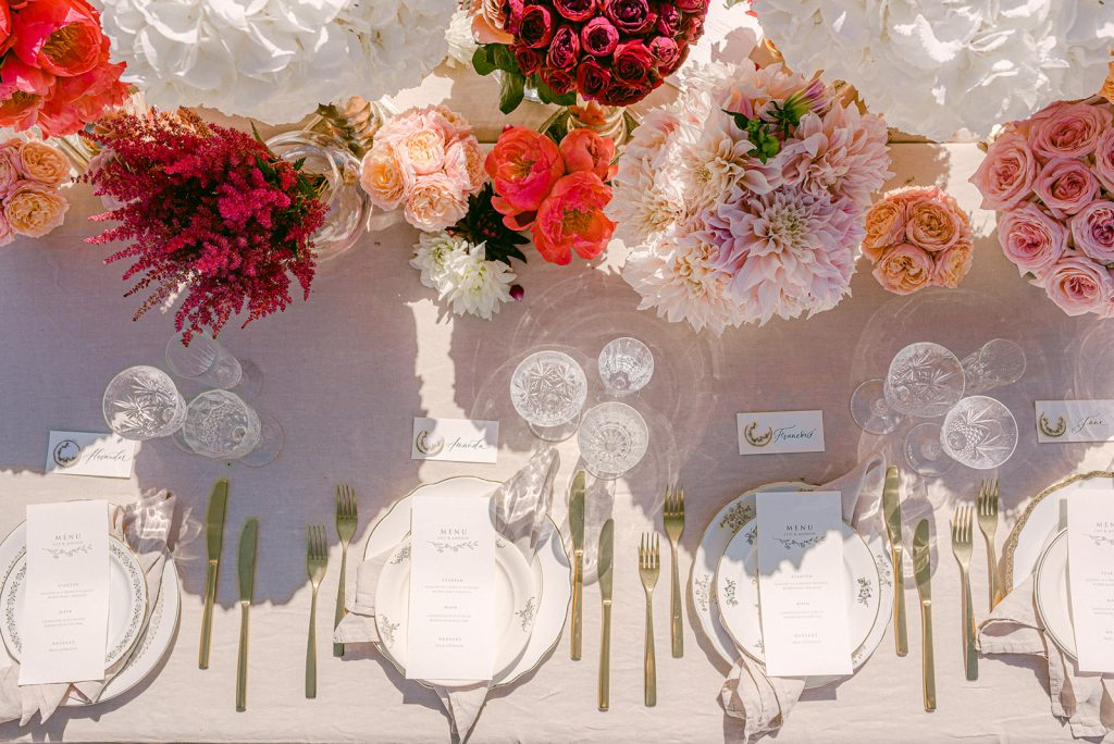 modern luxury wedding