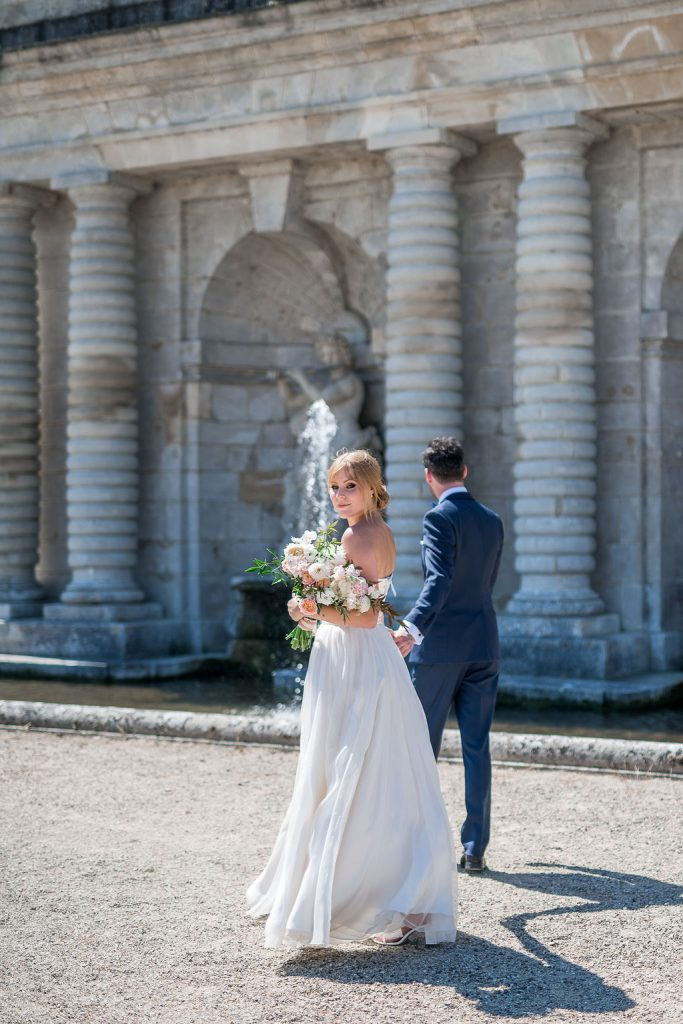 elopement chateau chantilly