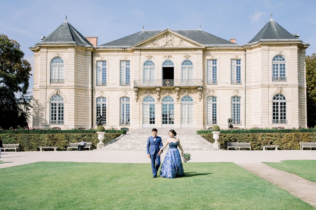 rodin museum luxury wedding venue in Paris