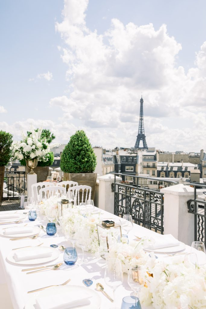 hotel marignan wedding in paris