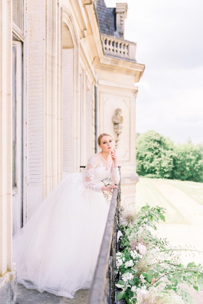 chateau wedding near Paris Katerina Meyvial