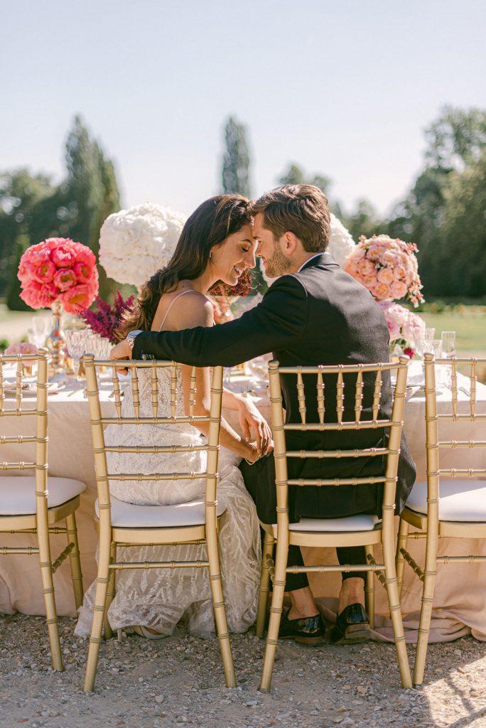 chateau de villette wedding inspiration
