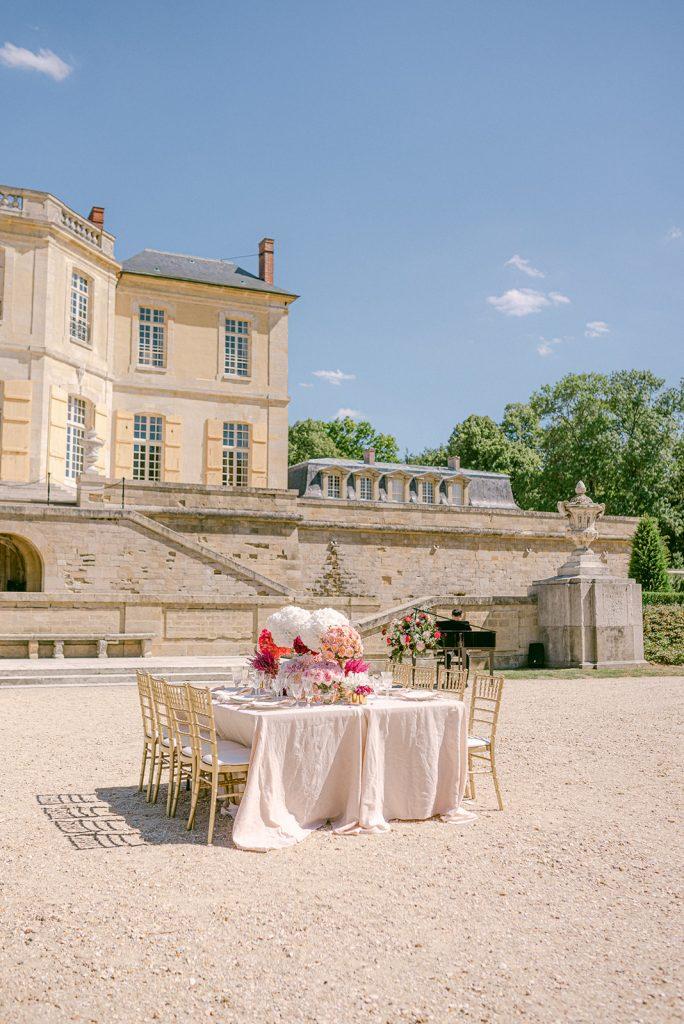 summertime wedding in paris