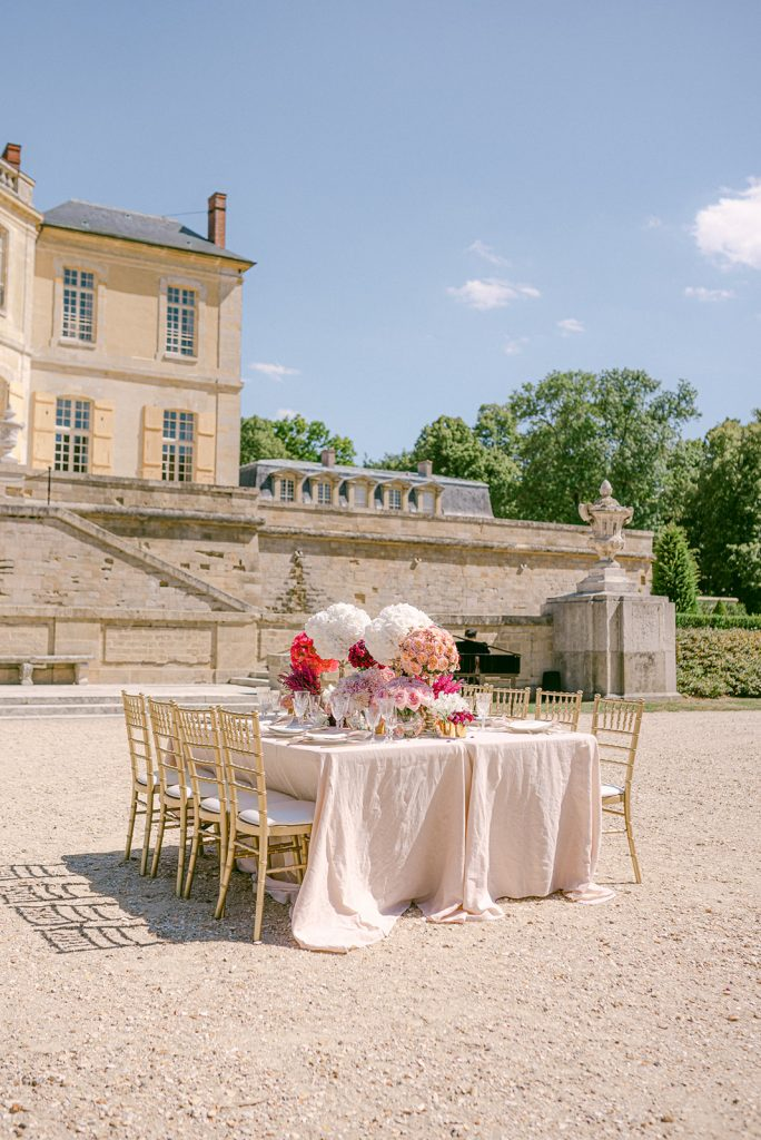 chateau wedding in paris