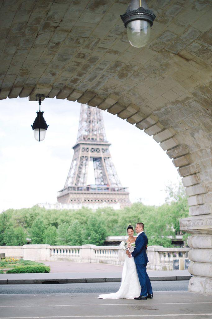 свадьба для двоих в париже
