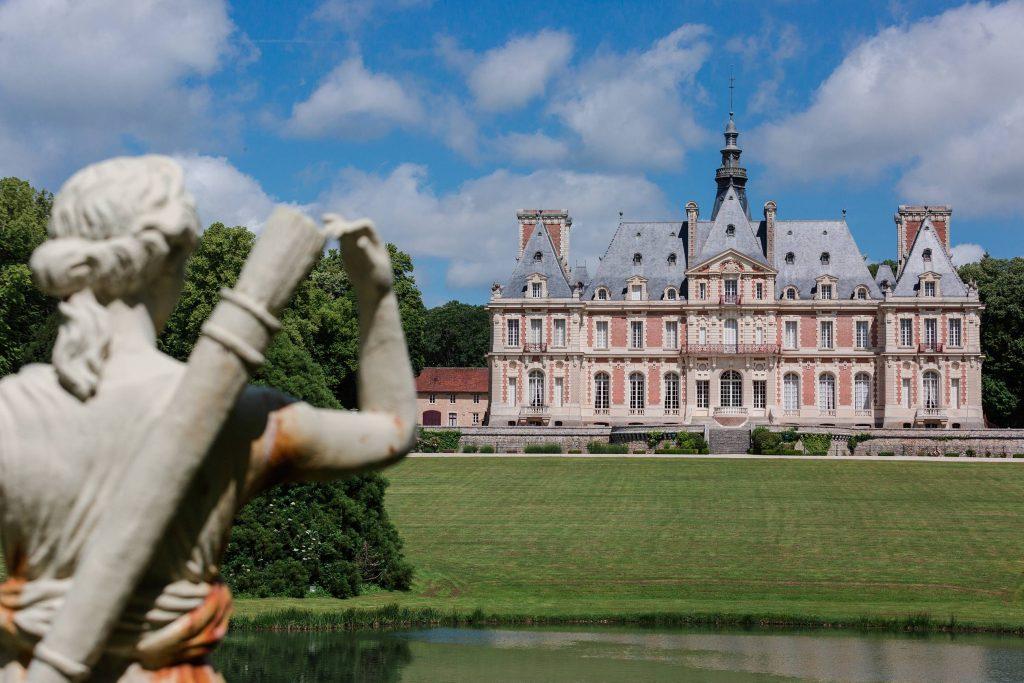 wedding in a french chateau