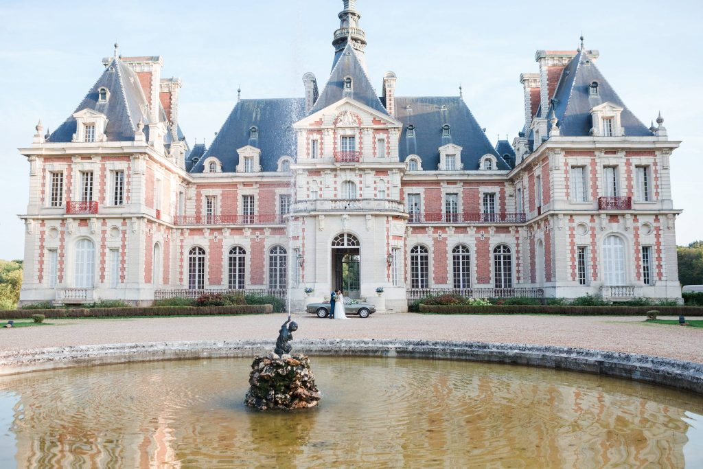 getting married in chateau de baronville france